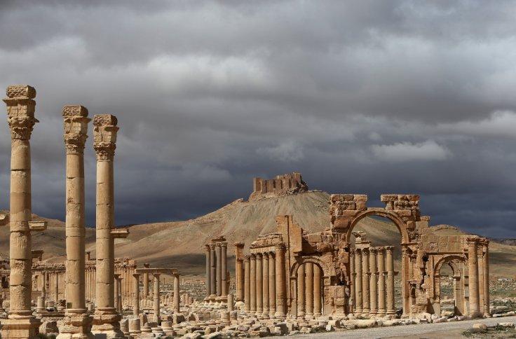 THE HERO OF PALMYRA