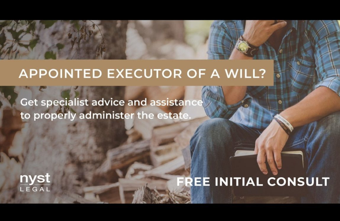 Appointed Executor of a Will?