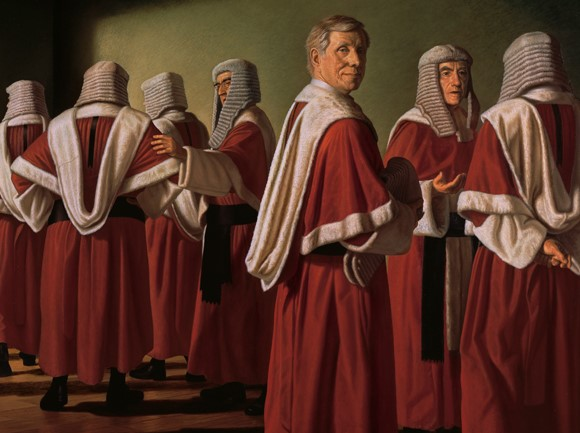 Image: Radical Restraint Justice Michael Kirby, 1998, by Ralph Heimans, National Portrait Gallery - Same-Sex Marriage Debate