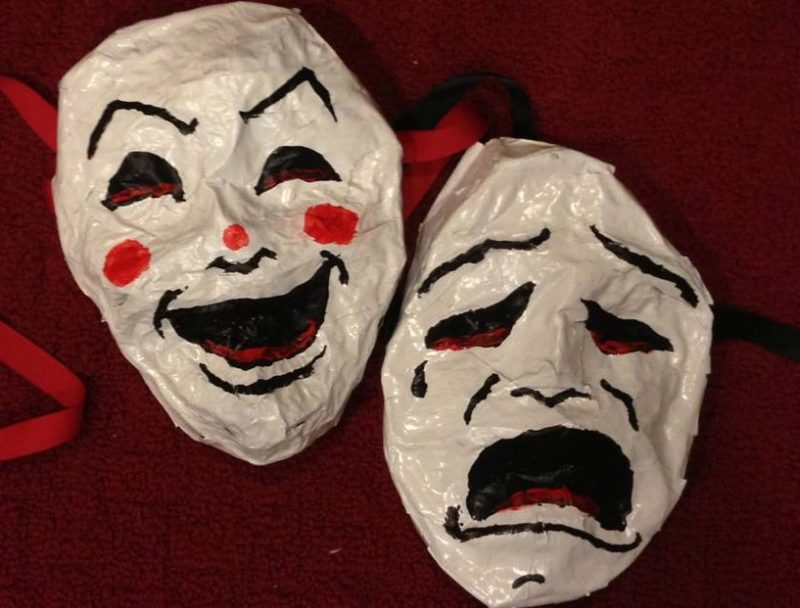 Theater Masks - defamation law