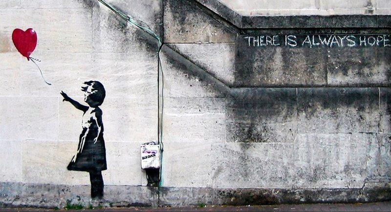 Banksy v Sotherby - Wilful Damage